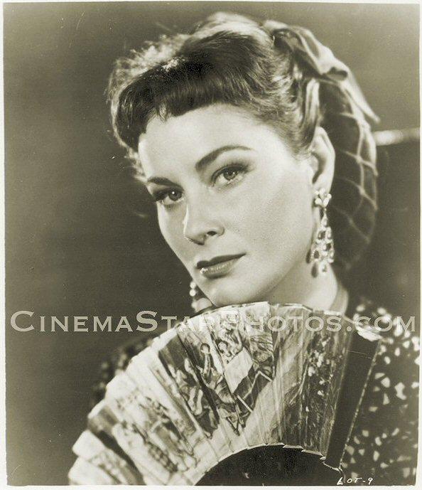 Dualité de la plus belle actrice italienne