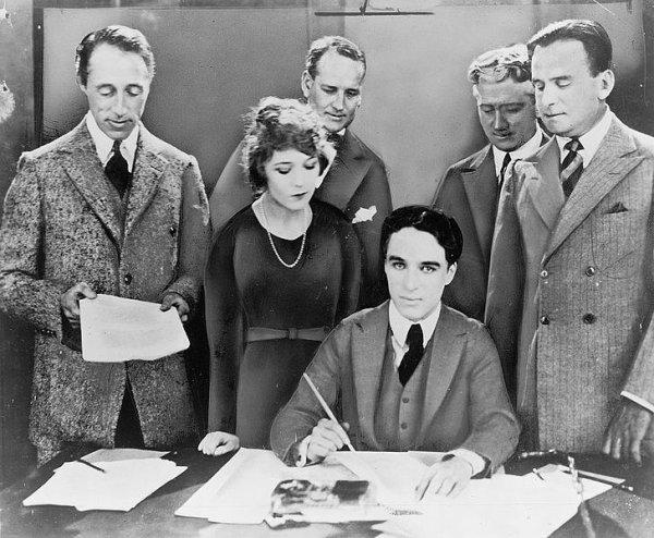 Les débuts de la United Artists