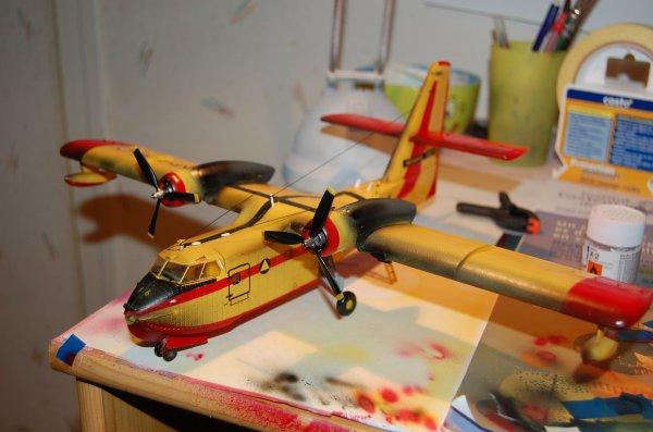 maquette CL135