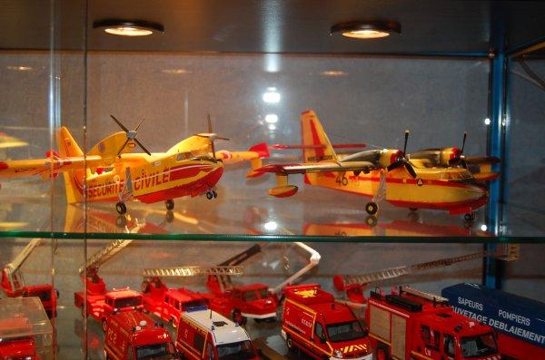 maquette canadair CL145 et CL135