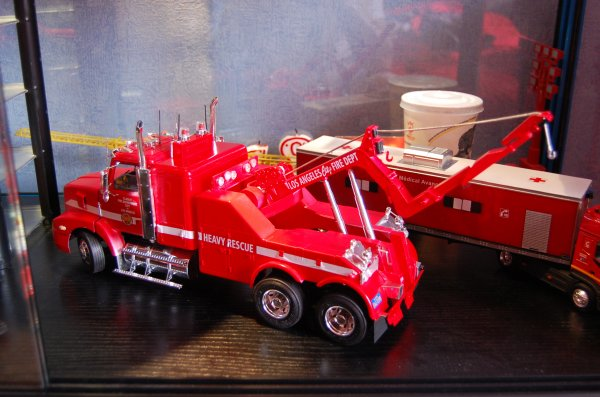 maquette firetruck recovery