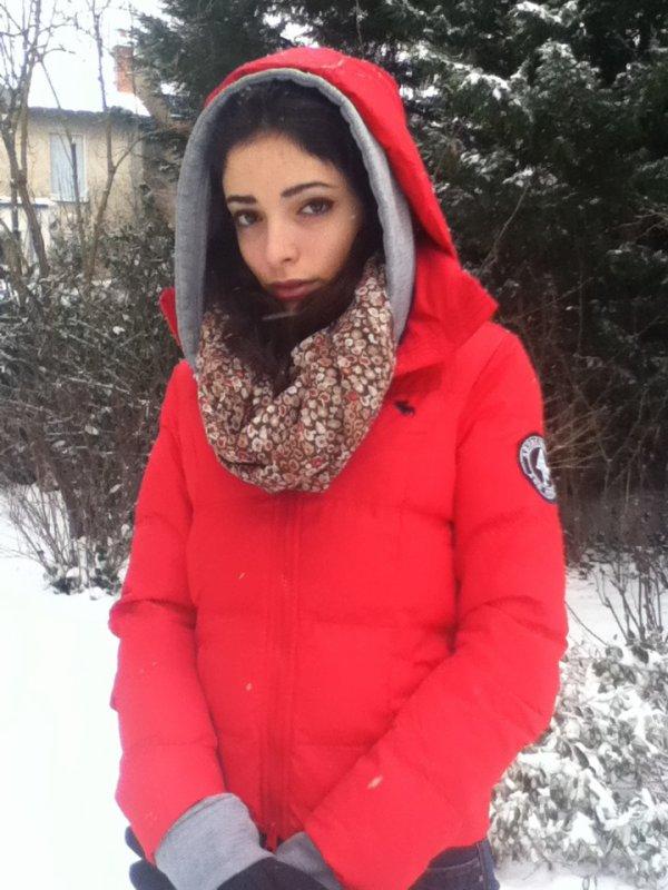 hehe j'adore la neige ^^ (l)