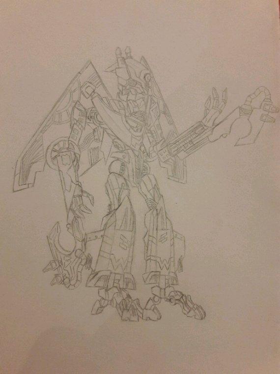 Dessin #02 : Skystalker (Transformers ROTF)