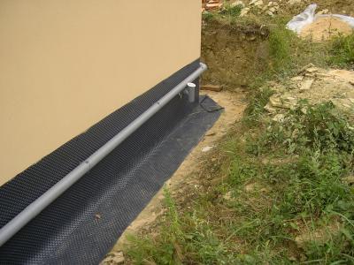 Drainage p riph rique 2 et 3 ao t nous et notre maison mikit - Plan de drainage maison ...