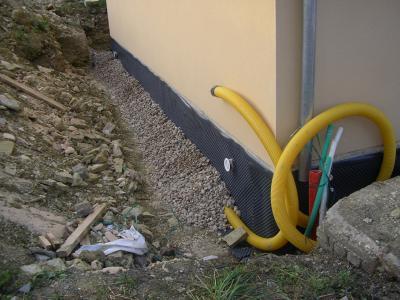 Suite drainage nous et notre maison mikit - Plan de drainage maison ...