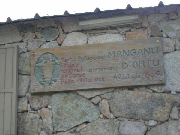 reuge de Manganu