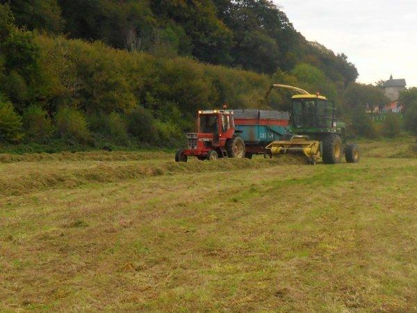 ensilage d'herbe le jeudi 21 octobre
