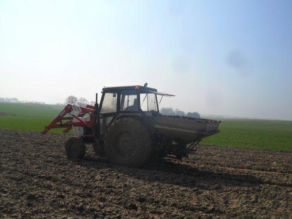 semis d'engrais