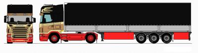 dessin de l'ancien scania r420 a VDT