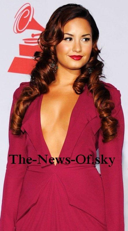 Demi a été présente au Grammy Awards Latine.