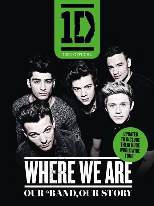 "1D's ""Where We Are"" book"