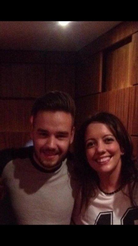 Les boys en coulisses à Dublin le 24/5/2014