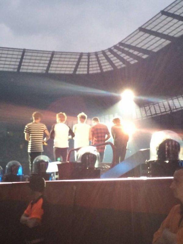 Le concert à Manchester le 30/5/2014