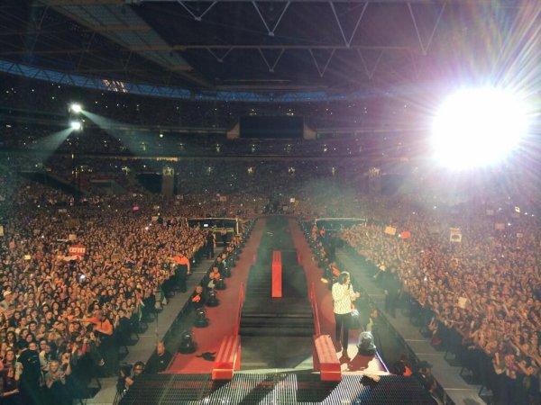 Le concert au Wembley Stadium le 6/6/2014