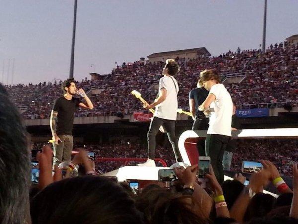 Le concert à Barcelone le 8/7/2014
