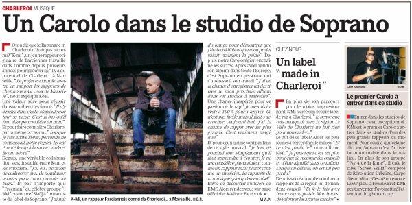 Article paru dans la Nouvelle Gazette de ce jeudi 22 décembre 2011