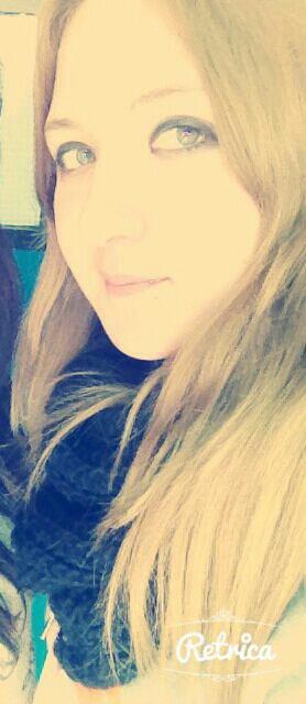 Moi blonde :-D