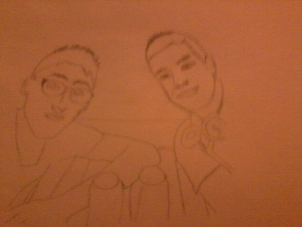 Lucas et Ponpon