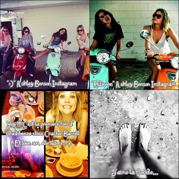 Jeudi 1er mars 2012 : Selena, Ashley & Vanessa allant dans un Starbucks à Tampa, Floride. Top ou Flop ? C'est un Top pour Selena ! Et aussi pour ses co-stars :D