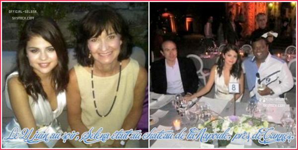 Selena à Cannes !