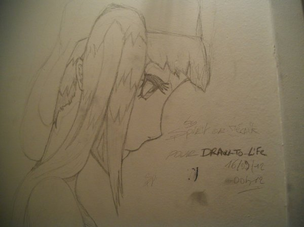 Dessin Riruka part1 - Un remerciment de la part de Spirit-or-mecanik qui m'as fait trop plaisir :D