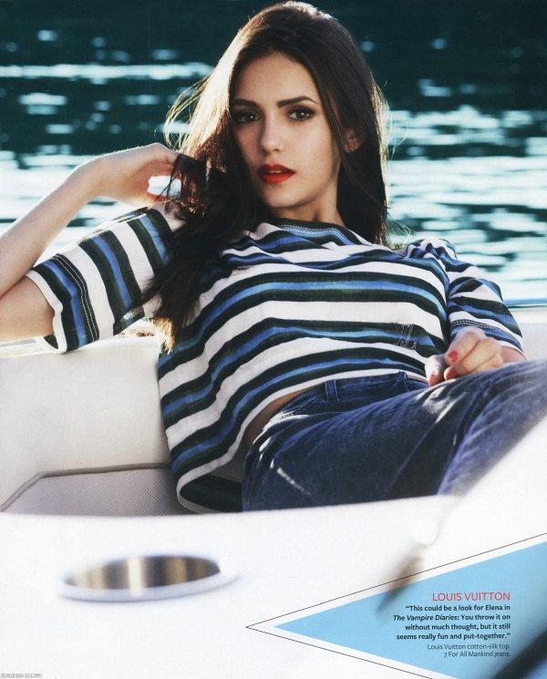 Nina a posé pour le magazine Instyle qui paraitra en janvier 2011. Qu'en pensez-vous ?