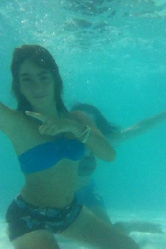 Dans la piscine :)