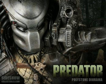 Predator diorama (1987) / Sideshow Collectibles