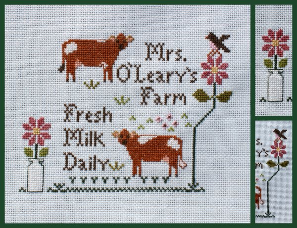 """Mrs. O'Leary's Dairy Farm"".... suite"