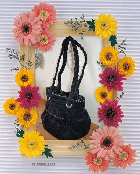 sac velours