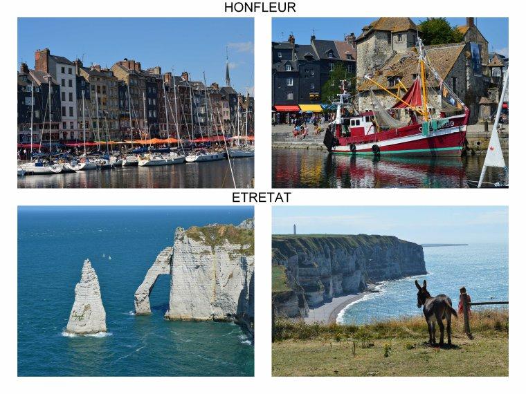 Vacances en Normandie... et petites croix....