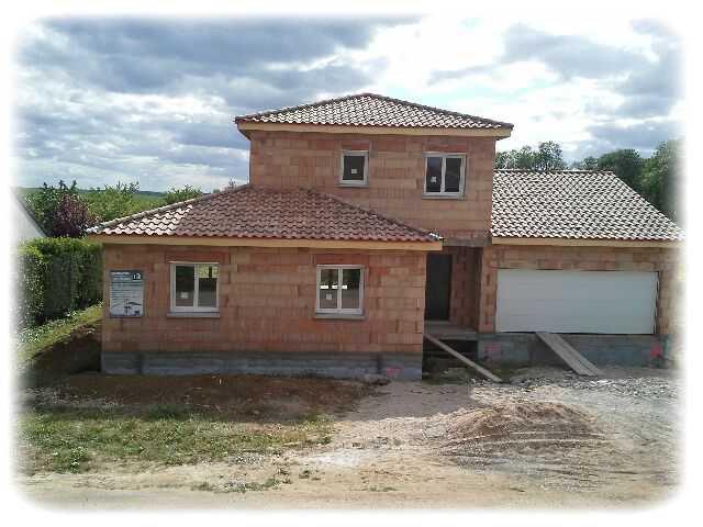 Notre future maison et une petite création...
