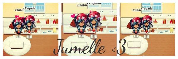 Ma jumelle haha ♥