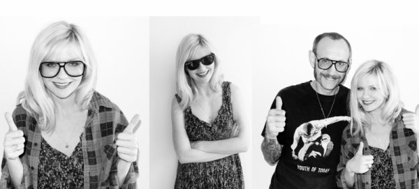 Kirtsen pose pour Terry Richardson ...