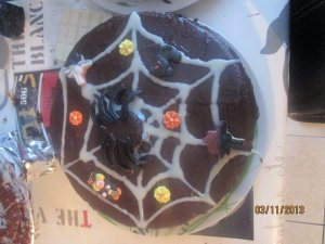 Gâteau thème Halloween