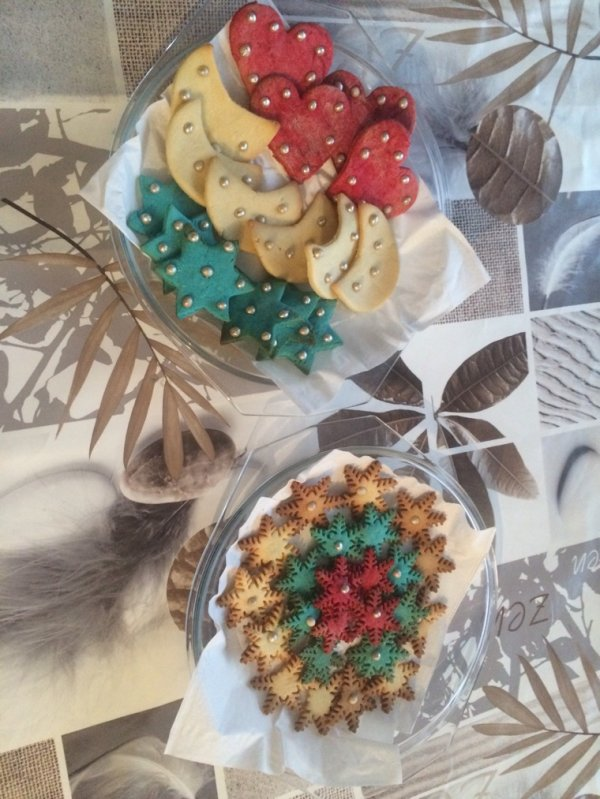 Biscuits de Noël ( a l avance )