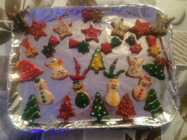 Gâteaux du père noel