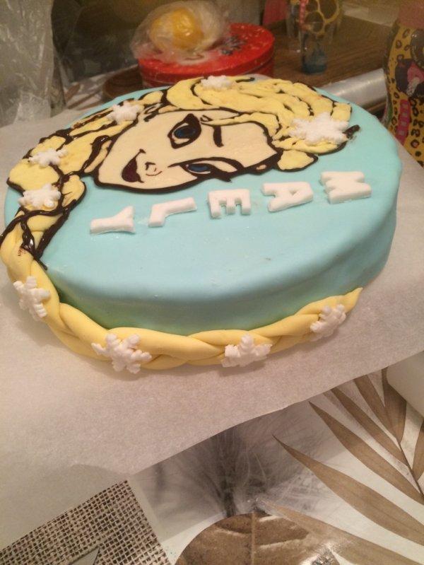 Gâteau reine de neige