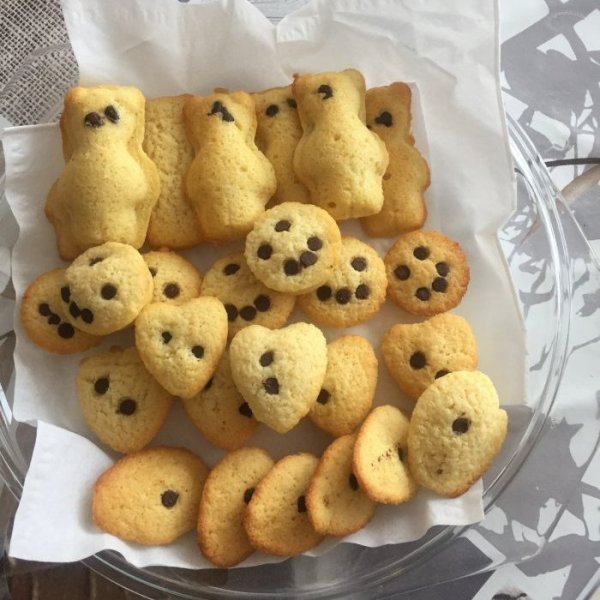 petits biscuits style madeleine