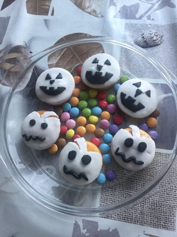 Muffins d Halloween