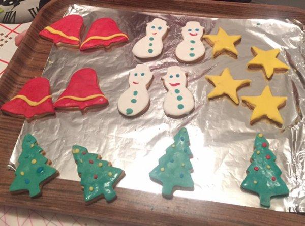 Biscuits de Noel à la cannelle