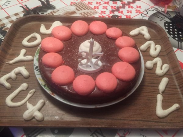 Mon gâteau d anniv fait par mon mari
