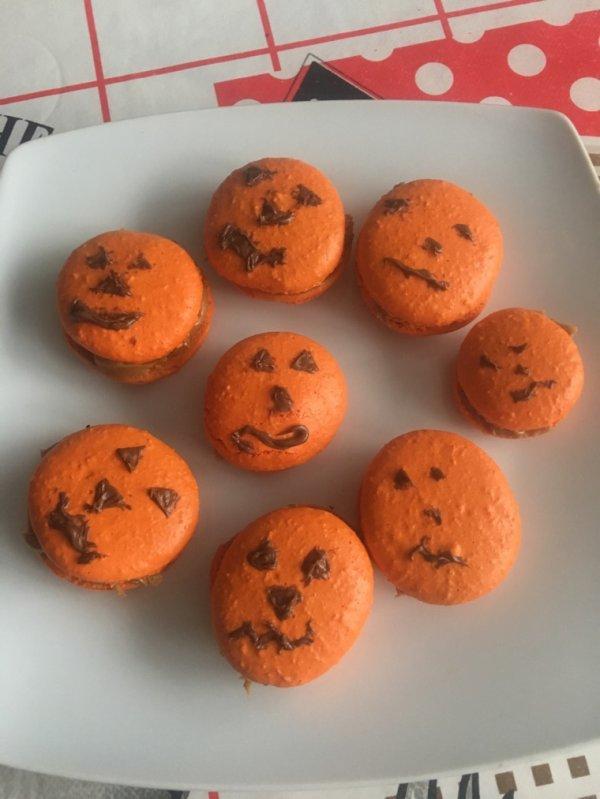 Macarons Halloween