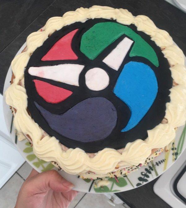 gâteau anniversaire yo-kai
