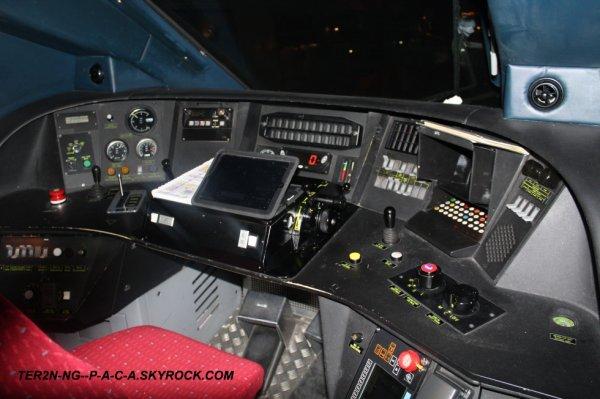 Int rieur de la cabine du tgv duplex 265 ter2n ng p a c a for Interieur tgv