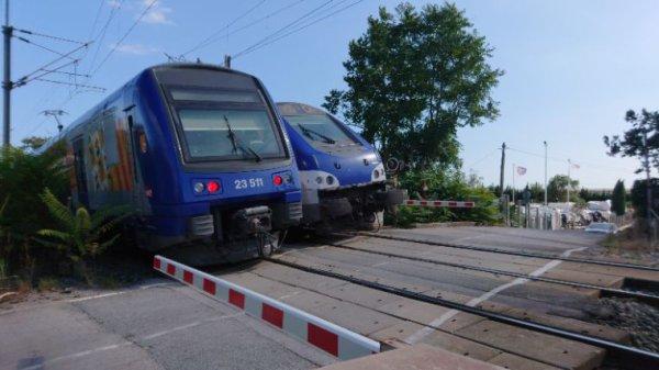 Le Ter 881267 les arcs-draguignan pour Cannes qui croire le Ter 17478 Nice ville pour Marseille Saint Charles ATTENTION UN TRAIN PEUX EN CACHER UN AUTRE !!!
