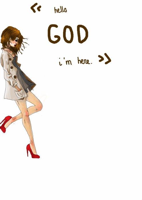 C'est un peu comme un Dieu, mais un Dieu sans Eglise.