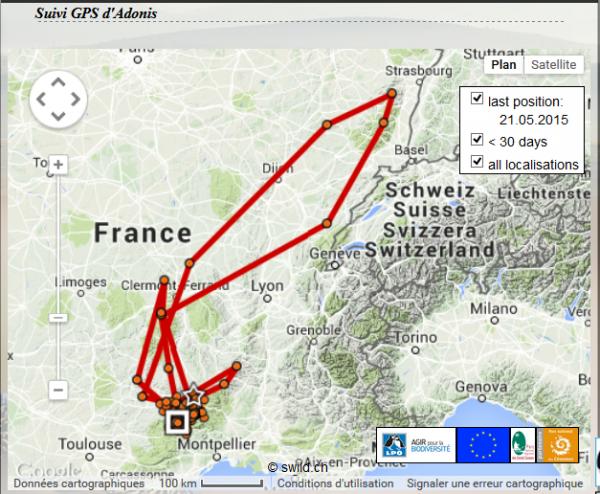 Suivi par GPS