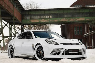 "Porsche Panamera Turbo par Edo Competition ""Moby Dick"""