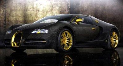 Bugatti Veyron Linea Vincero d'Oro par Mansory